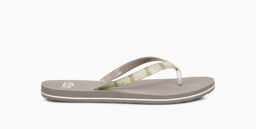 Simi Graphic Flip Flop - Image 1 of 6