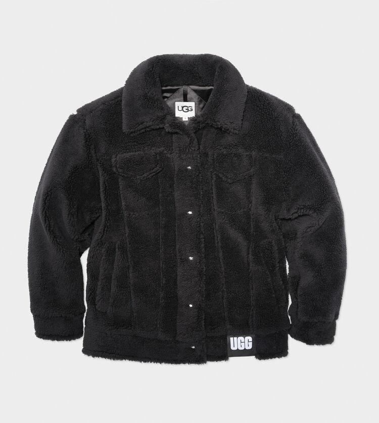 Frankie Sherpa Trucker Jacket