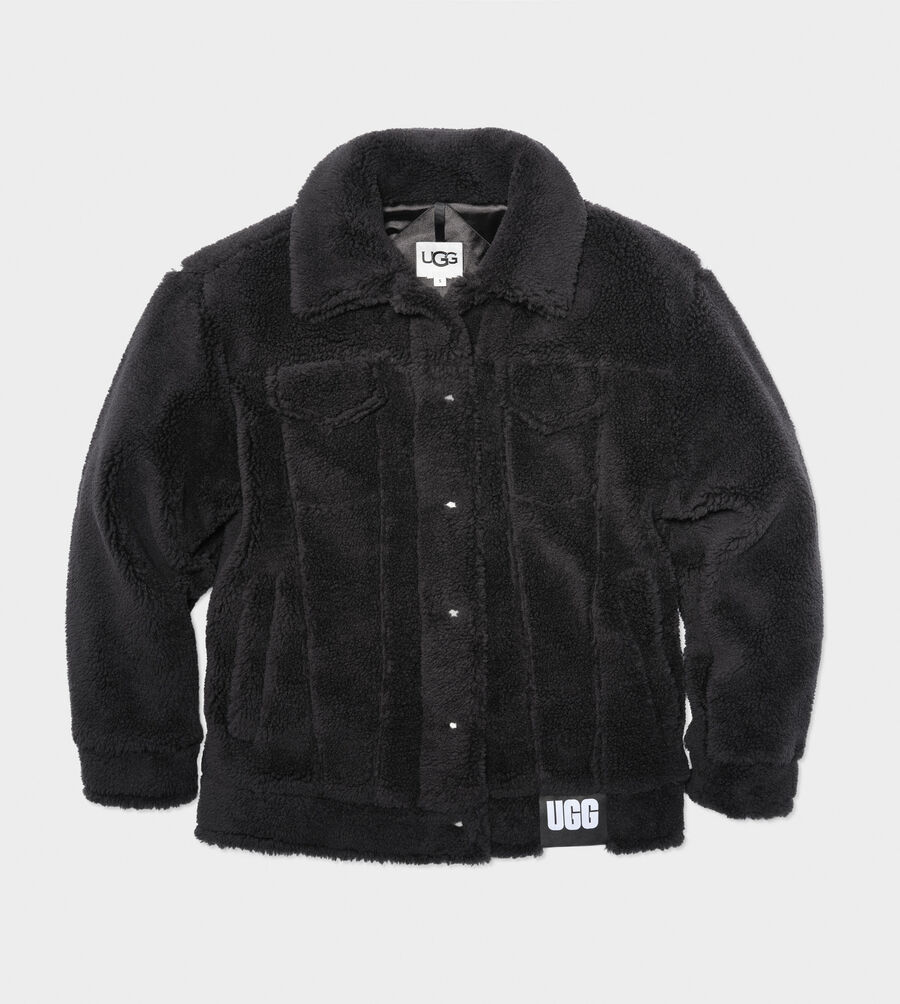 Frankie Sherpa Trucker Jacket - Image 1 of 5