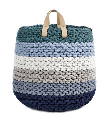 Rainbow Rope Nesting Basket