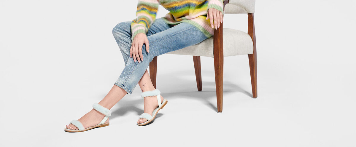 Fluff Springs Patent Sandal - Lifestyle image 1 of 1