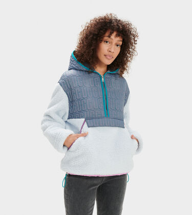 Iggy Sherpa Half Zip Pullover Alternative View