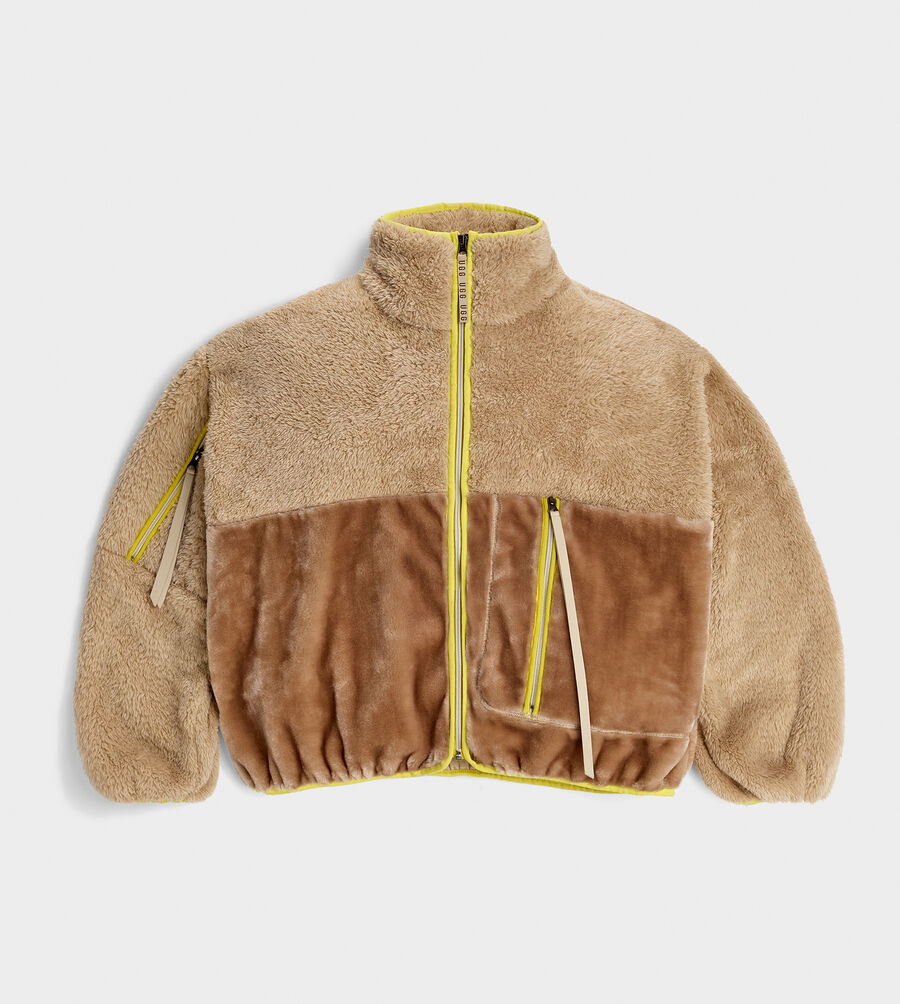 Marlene Sherpa Jacket - Image 1 of 5