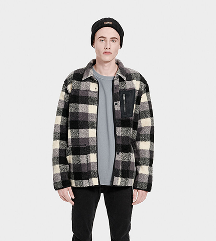 Keefe Sherpa Jacket - Image 1 of 6