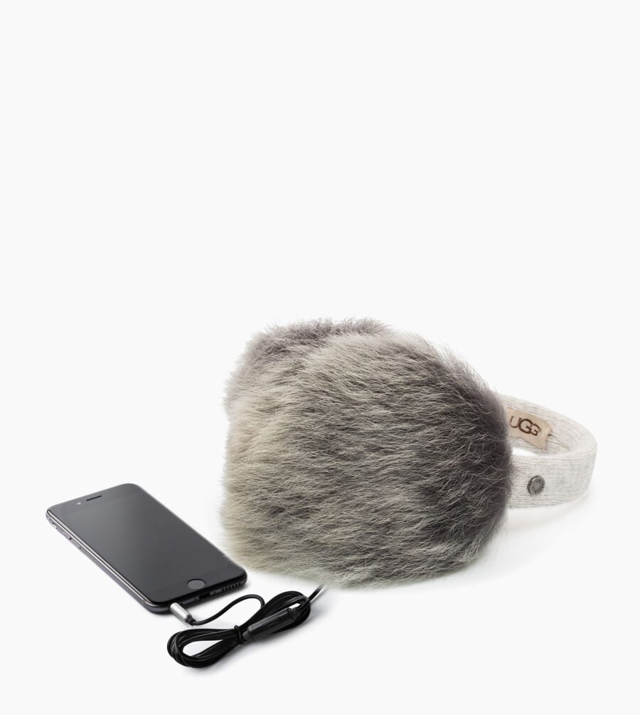 Wired Luxe Earmuff with Toscana Fur - Image 3 of 3