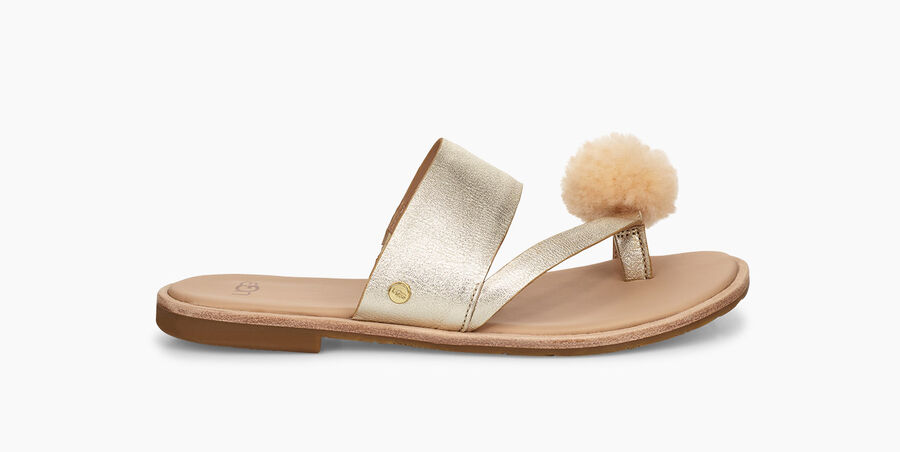 Hadlee Metallic Sandal - Image 1 of 6