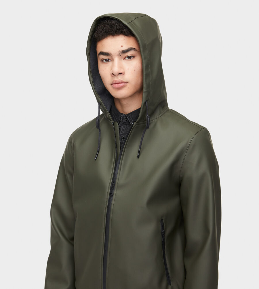 Diego Rubberized Hoodie - Image 5 of 6