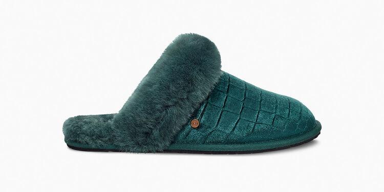 Scuffette Velvet Croc