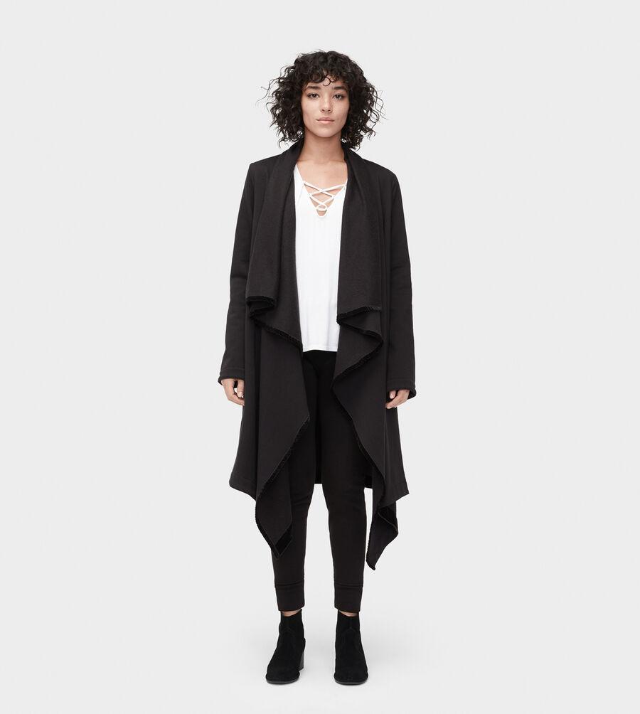 Janni Fleece Blanket Cardigan - Image 1 of 3