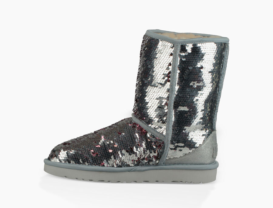 Classic Short Sequin Boot - Image 5 of 8