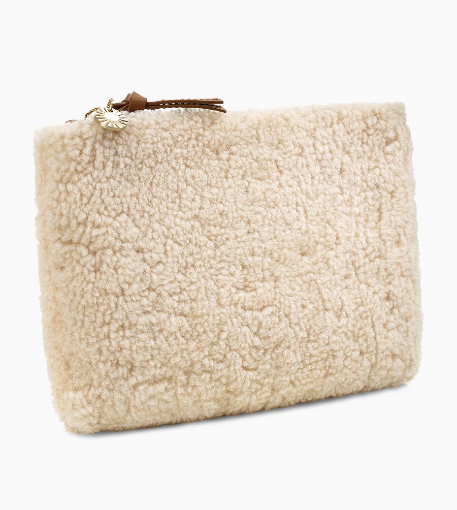 Medium Sheepskin Zip Pouch - Image 2 of 5