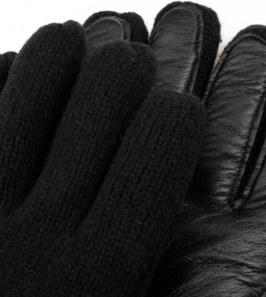 Knit Glove With Smart Leather Palm - Image 3 of 3