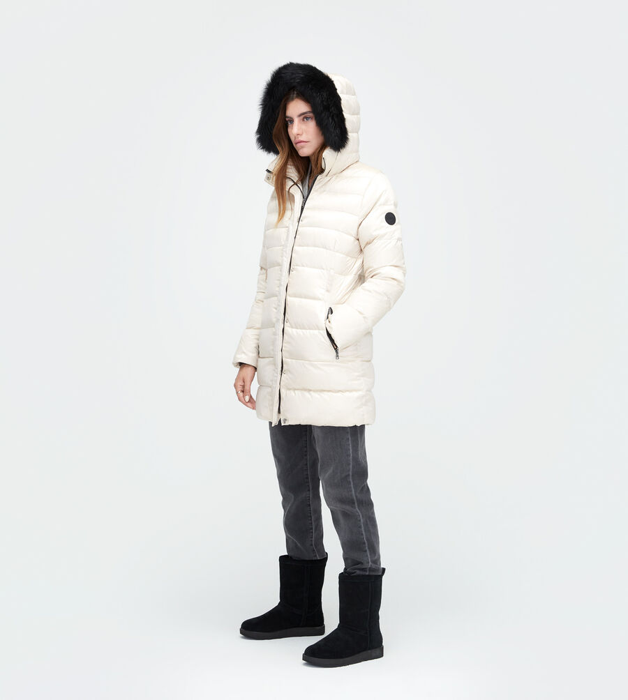 Belted Down Jacket - Image 4 of 5