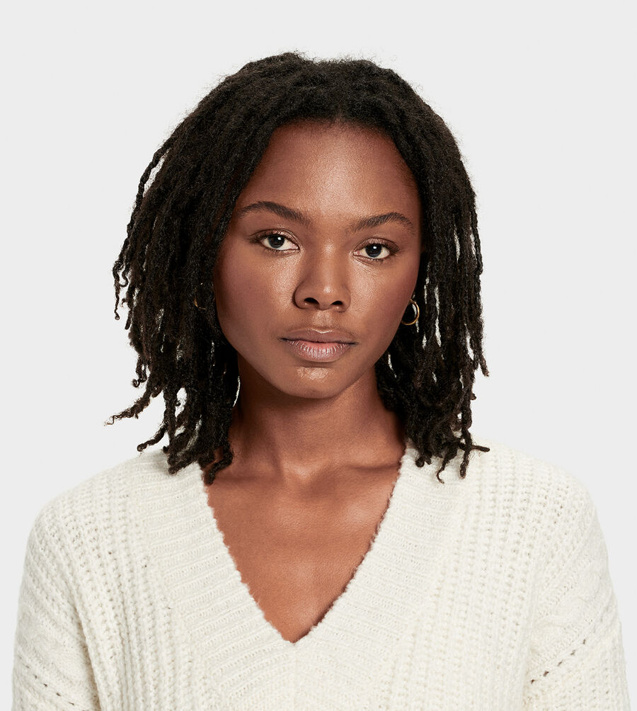 Alva Deep V-Neck Sweater - Image 4 of 6