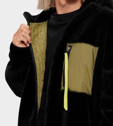 Kairo Faux Fur Jacket Alternative View