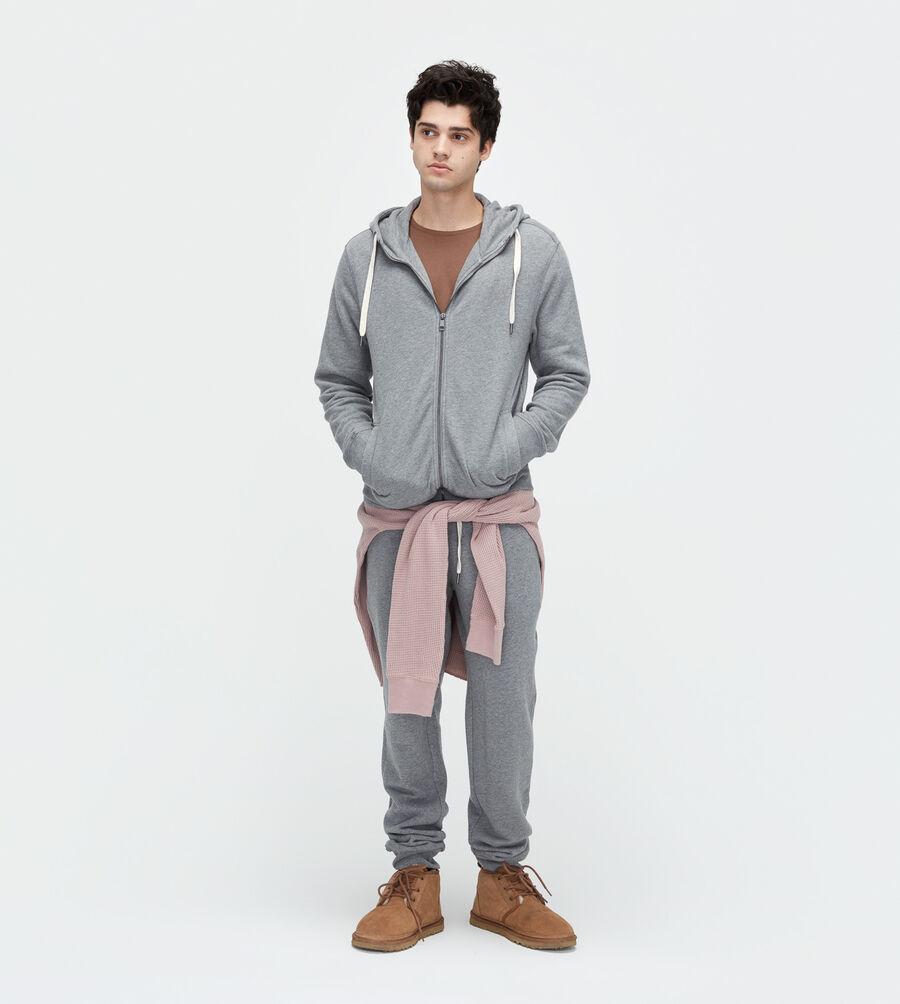Terry Knit Full-Zip Hoodie - Image 2 of 3