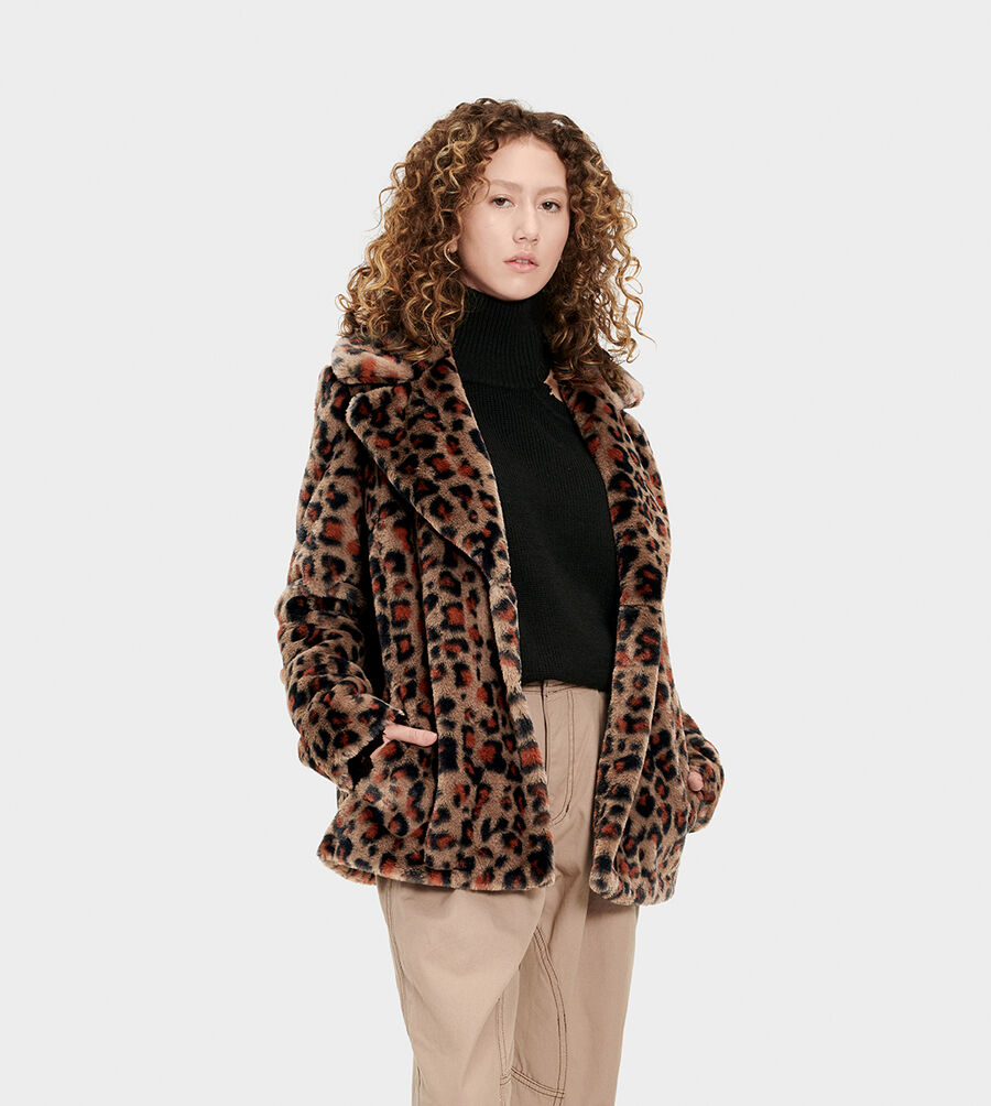 Rosemary Faux Fur Jacket - Image 1 of 6