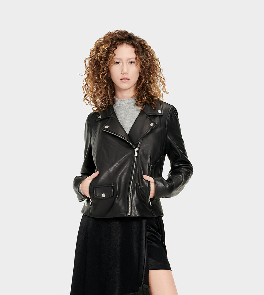 Alba Leather Jacket - Image 1 of 6