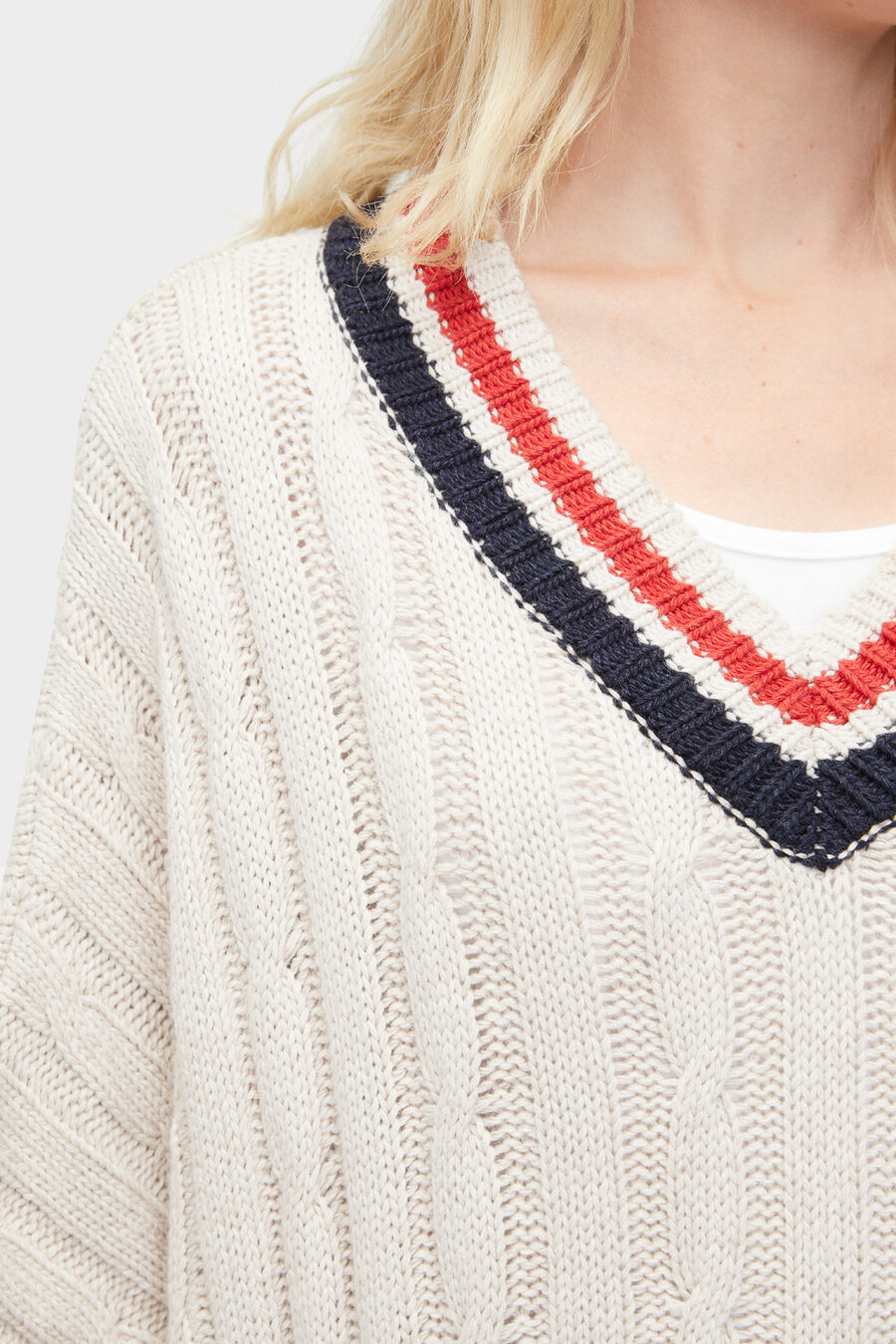 Weslynn Sweater Poncho - Image 3 of 4