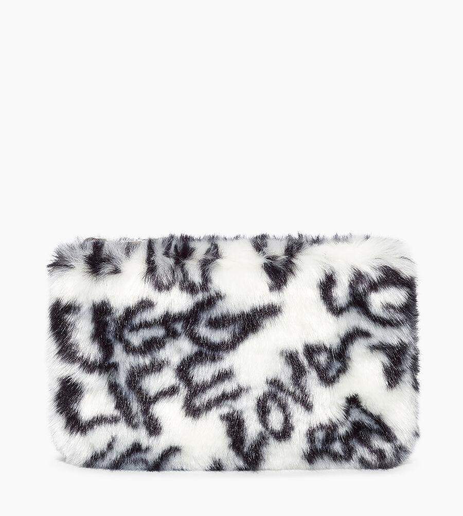 Small Zip Pouch Faux Fur - Image 1 of 5