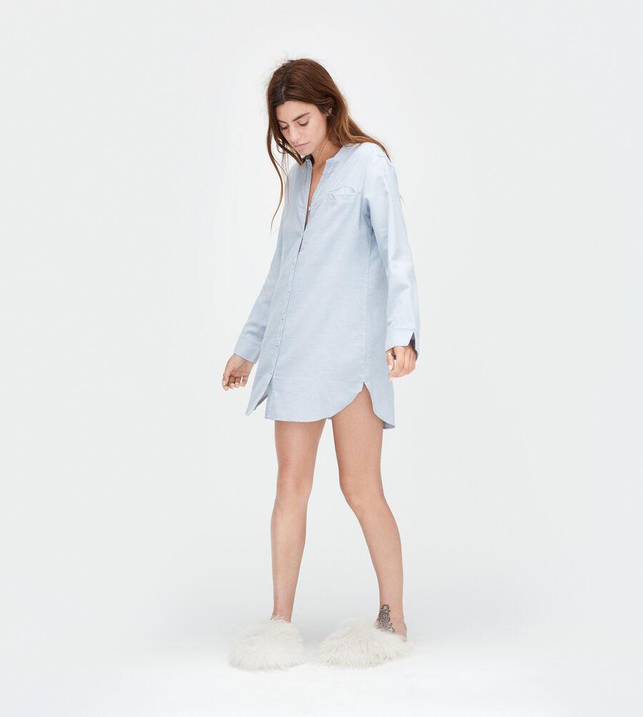 Vivian Herringbone PJ Shirt - Image 1 of 3
