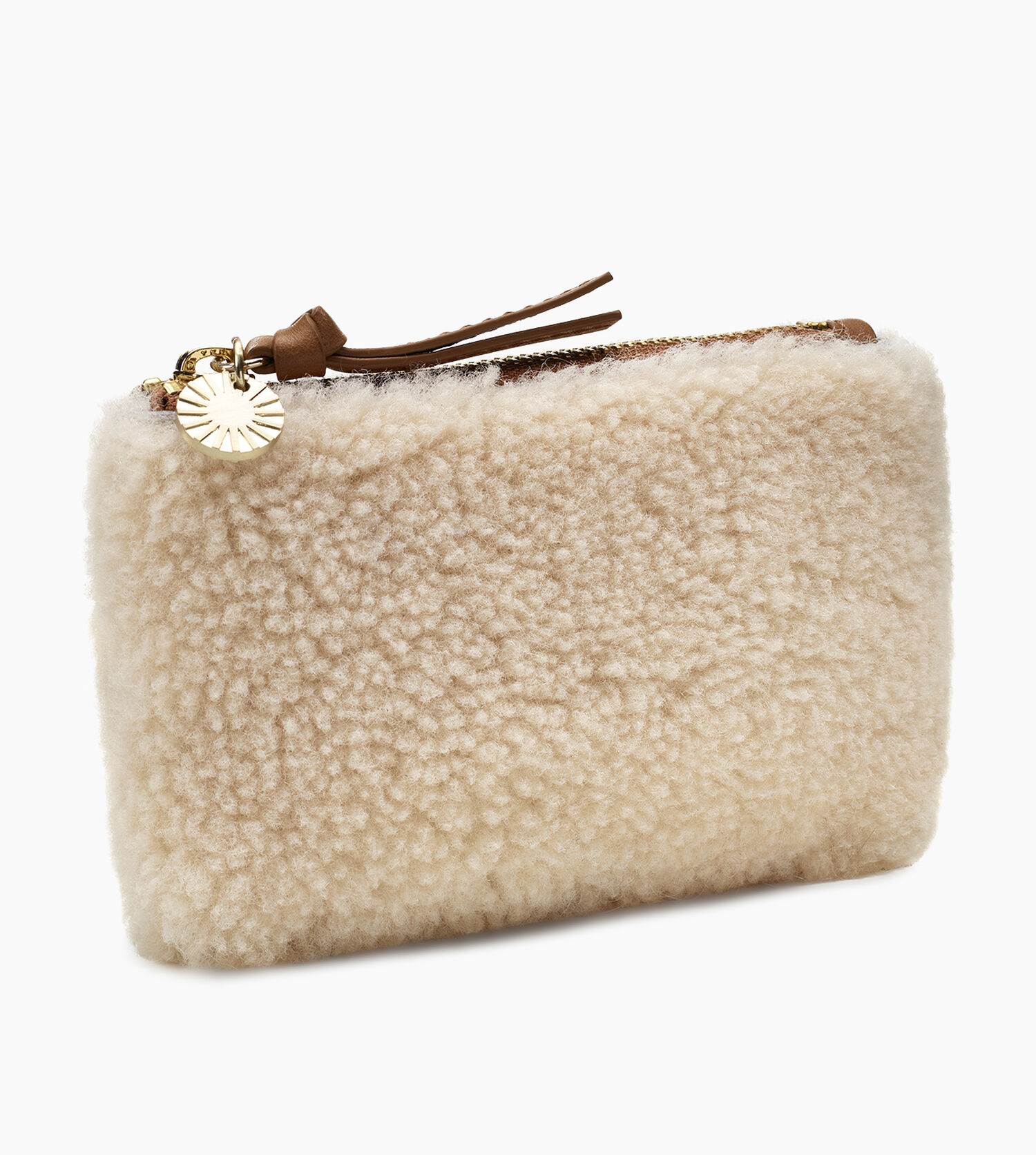 Small Zip Pouch Sheepskin Ugg Exclusive