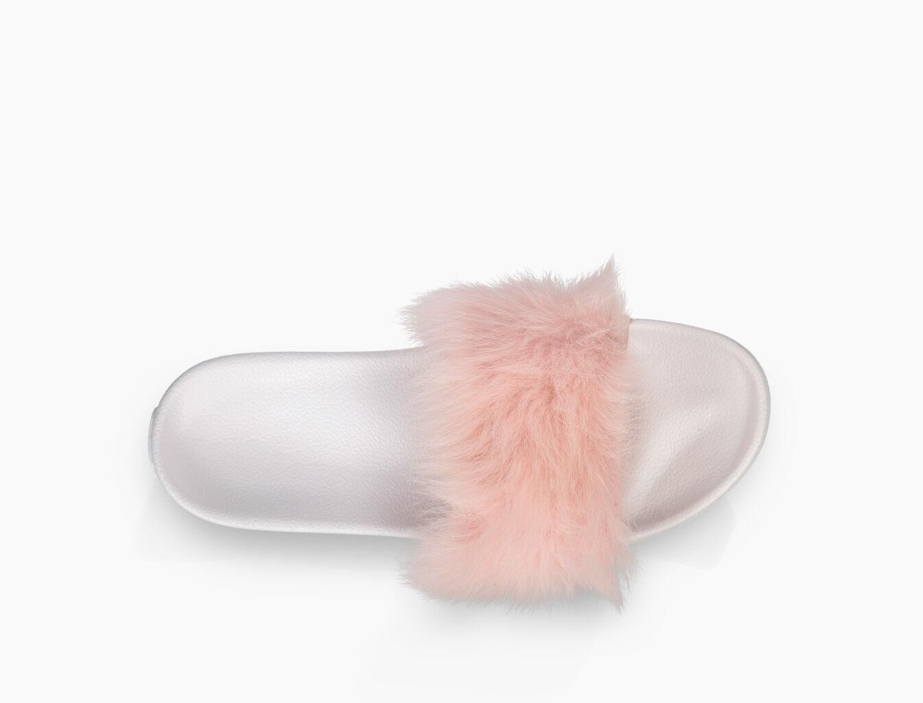 ugg fur slides