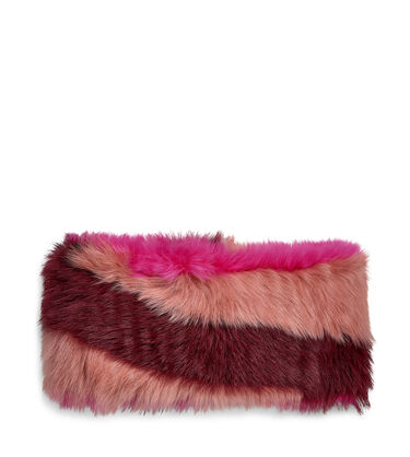 Multi Sheepskin Snood