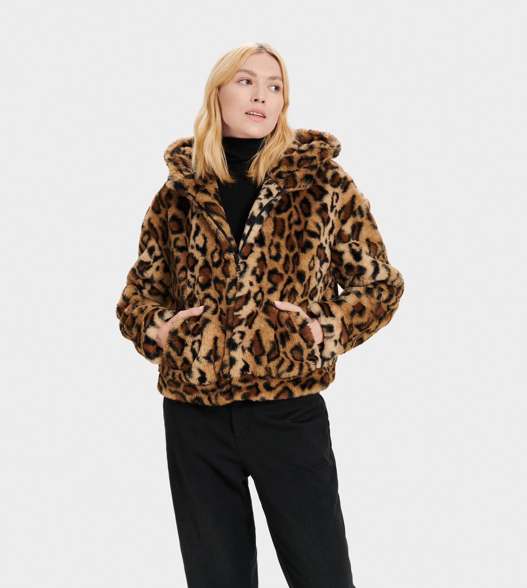 Mandy Faux Fur Hoodie | UGG® Official