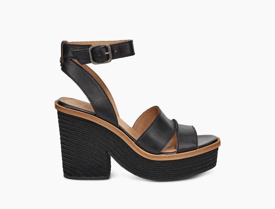 Carine Leather Heel - Image 1 of 6