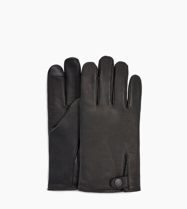 Tabbed Splice Leather Glove