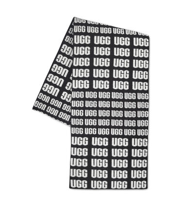 UGG Repeat Logo Scarf
