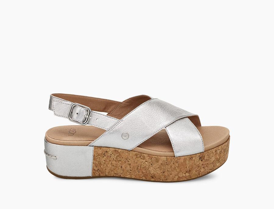 Shoshana Metallic Sandal - Image 1 of 6