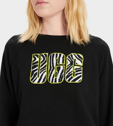 W Logo Crewneck Sweatshirt Alternative View