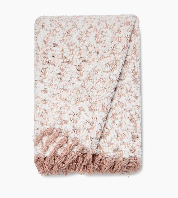 Amita Boucle-Knit Throw