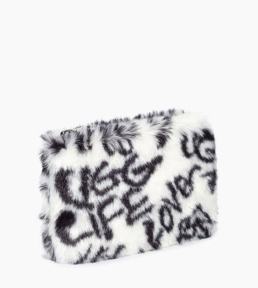 Small Zip Pouch Faux Fur - Image 2 of 5