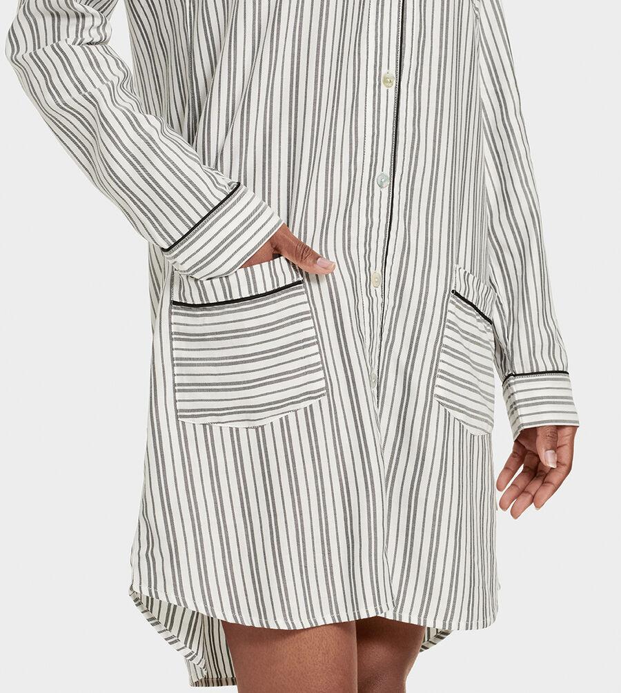 Laura Sleep Dress Stripe - Image 5 of 6