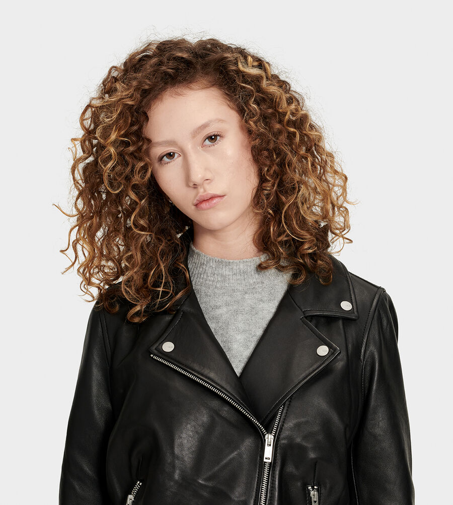 Alba Leather Jacket - Image 3 of 6