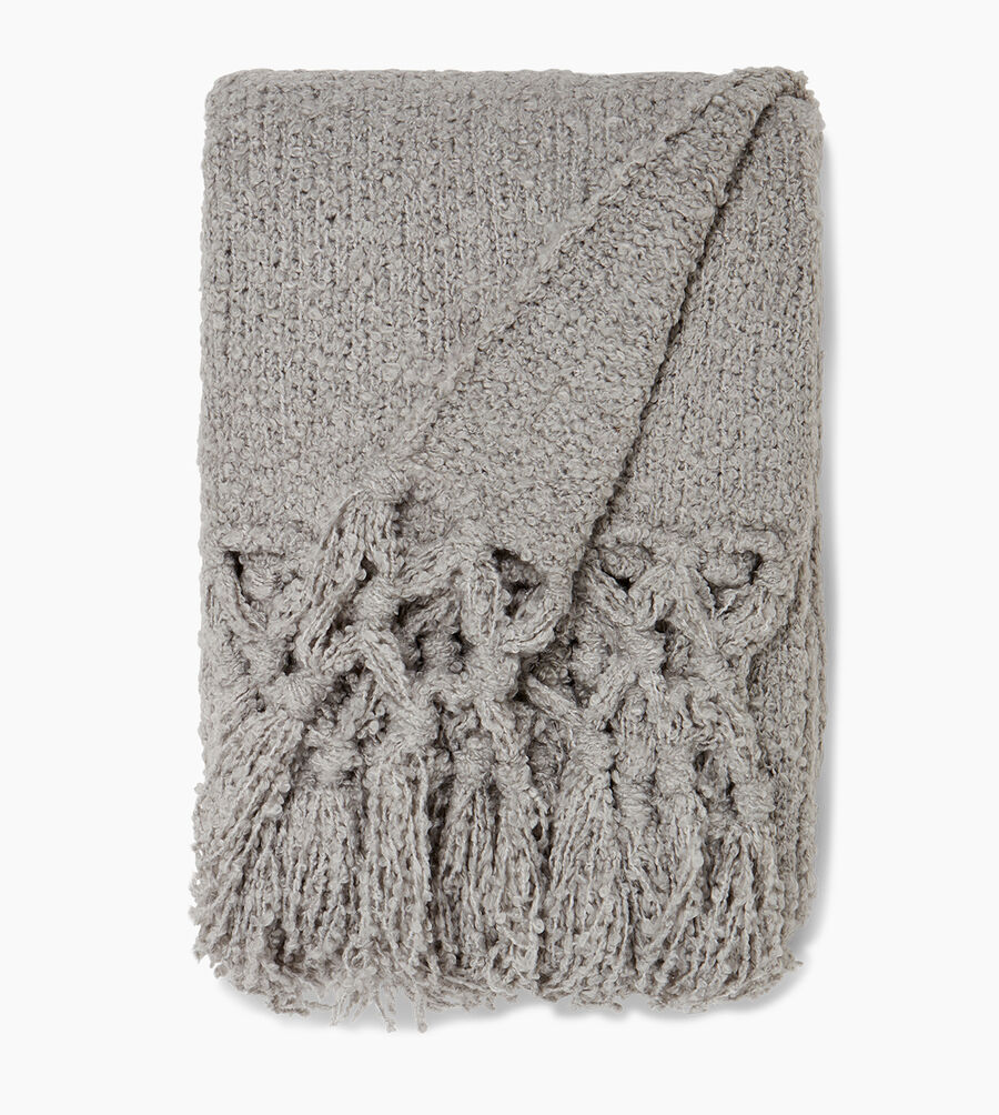 Cliffside Boucle-Knit Throw - Image 1 of 2