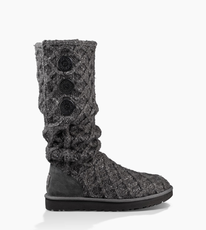 Favorite Womens Boots UGG Lattice Cardy Black