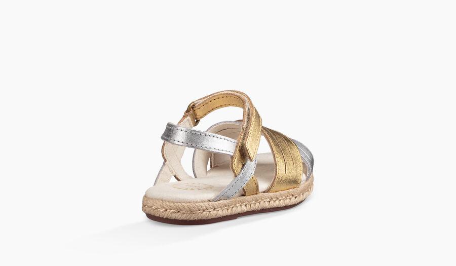 Addilyn Metallic Sandal - Image 4 of 6