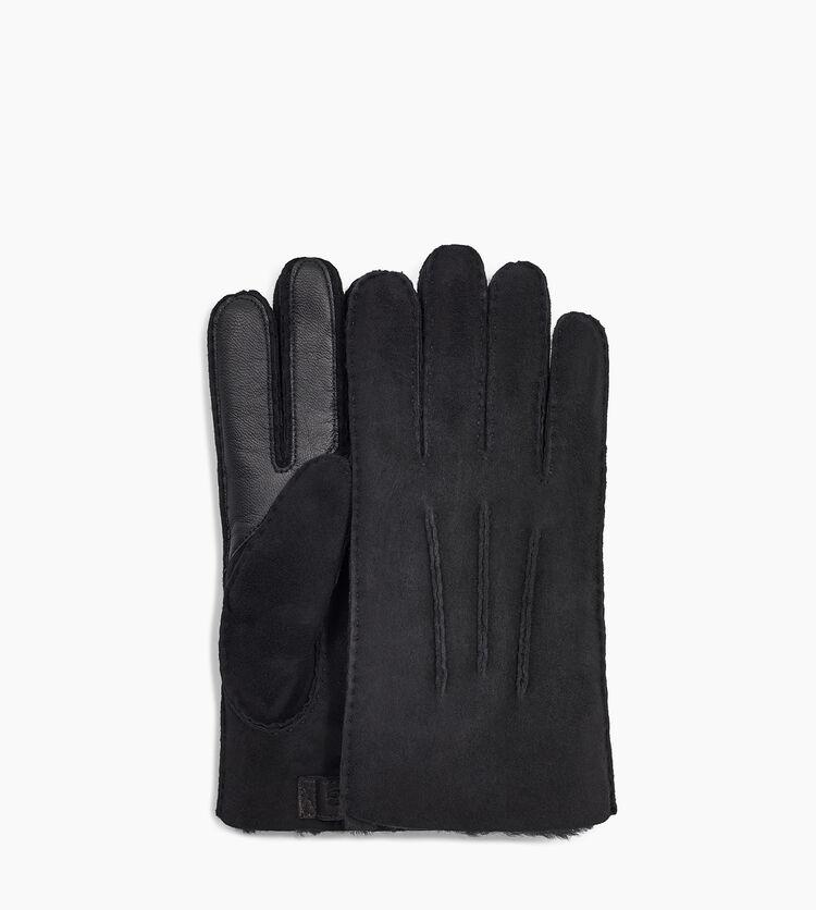 Contrast Sheepskin Tech Glove