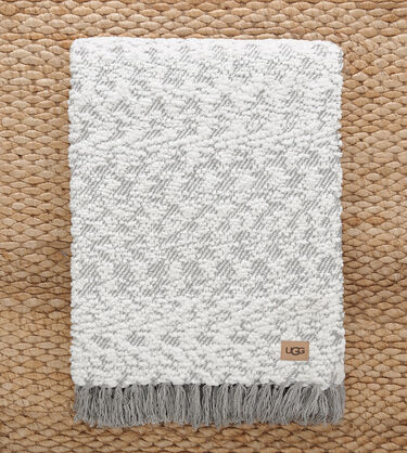 Amita Boucle-Knit Throw Alternative View