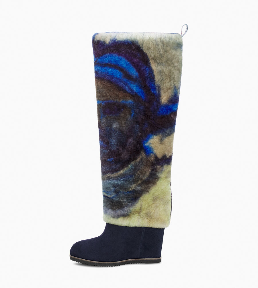 UGG X Claire Tabouret Fluff Boot - Image 3 of 6