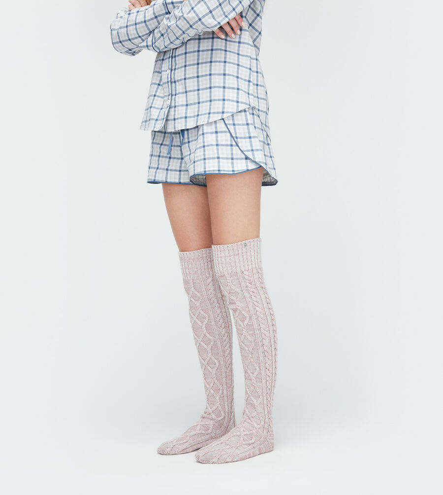 Cable Knit Sock - Image 3 of 3