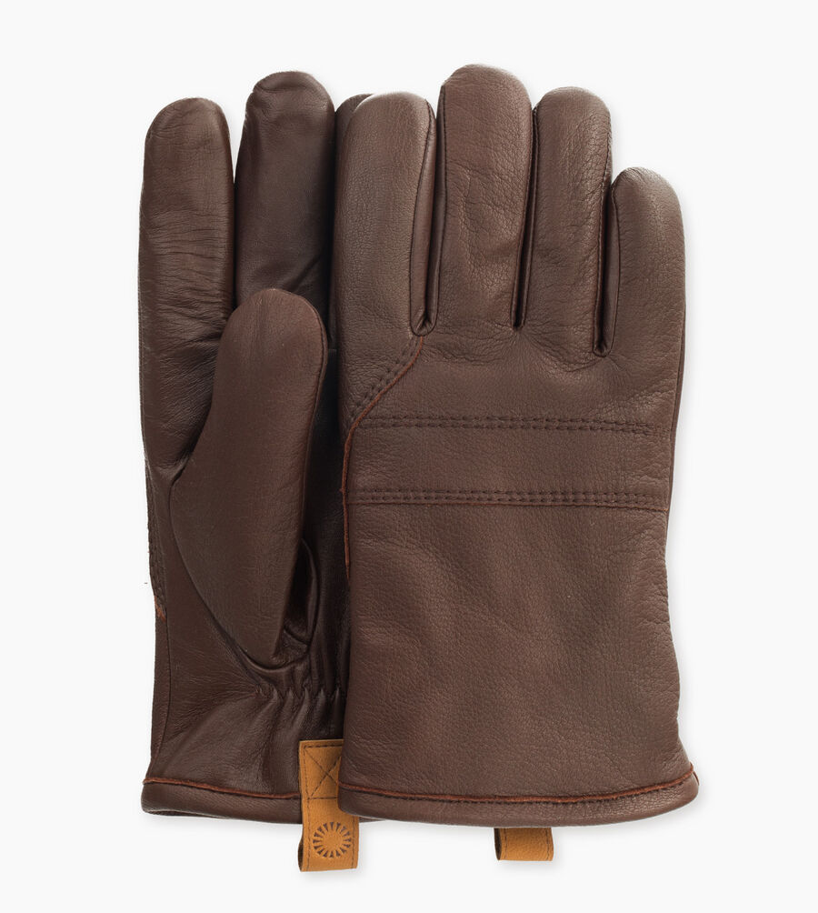 3 Pt Leather Glove With Pull Tab - Image 1 of 3