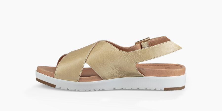 Kamile Metallic Sandal - Image 3 of 6