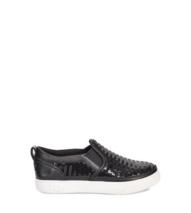 Caplan Sequin Slip-On