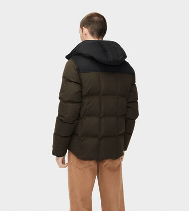 Cadin Hip-Length Wool Parka Alternative View