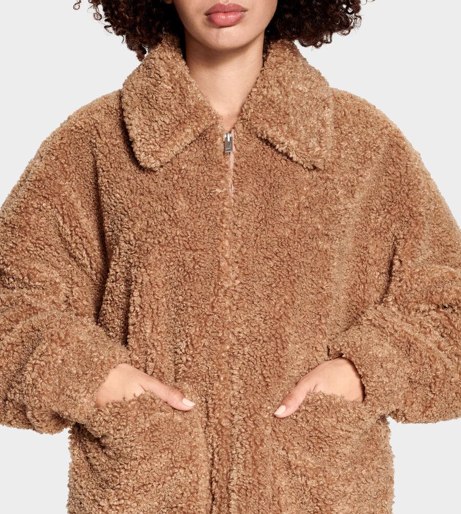 Kaley Teddy Bear Jacket - Image 5 of 6